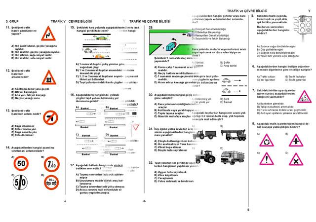 Ehliyet Sınavı Kuralları